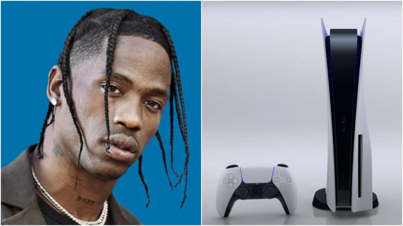 Travis Scott has officially teamed up with Sony for a PS5 collaboration