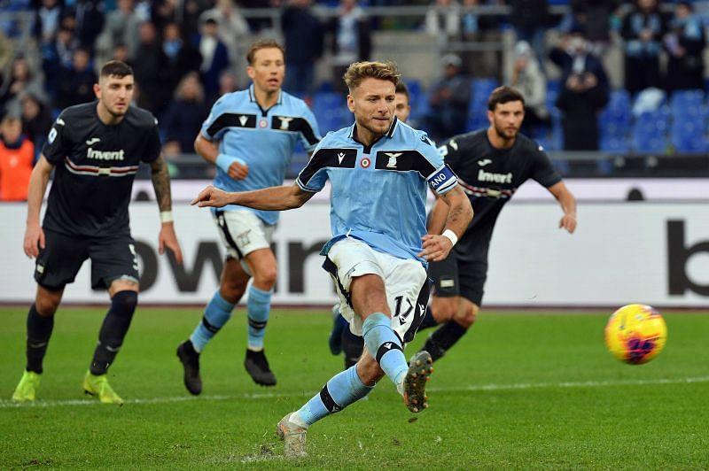Lazio take on Sampdoria this weekend
