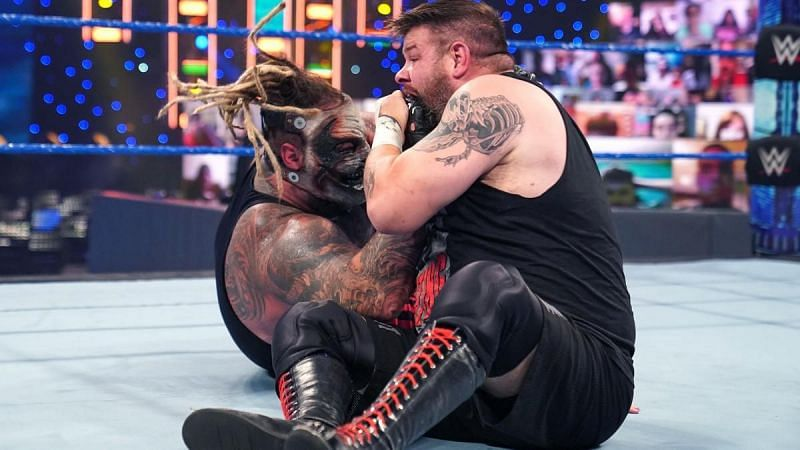 The Fiend and Kevin Owens