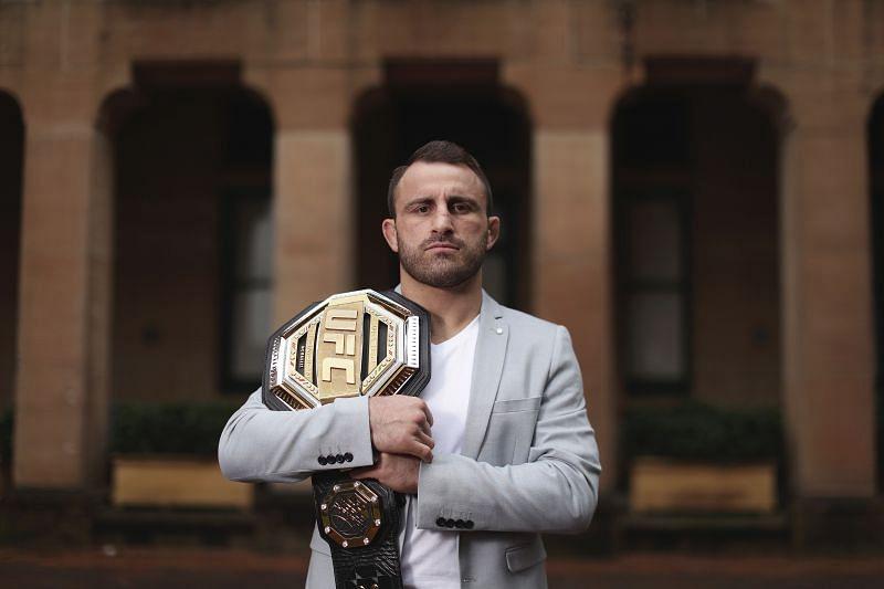 UFC featherweight champion Alex Volkanovski