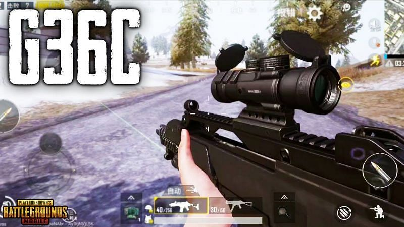 PUBG Mobile: M416 VS G36C; Which assault rifle is better (Image credits: ShubhGamerz YT)