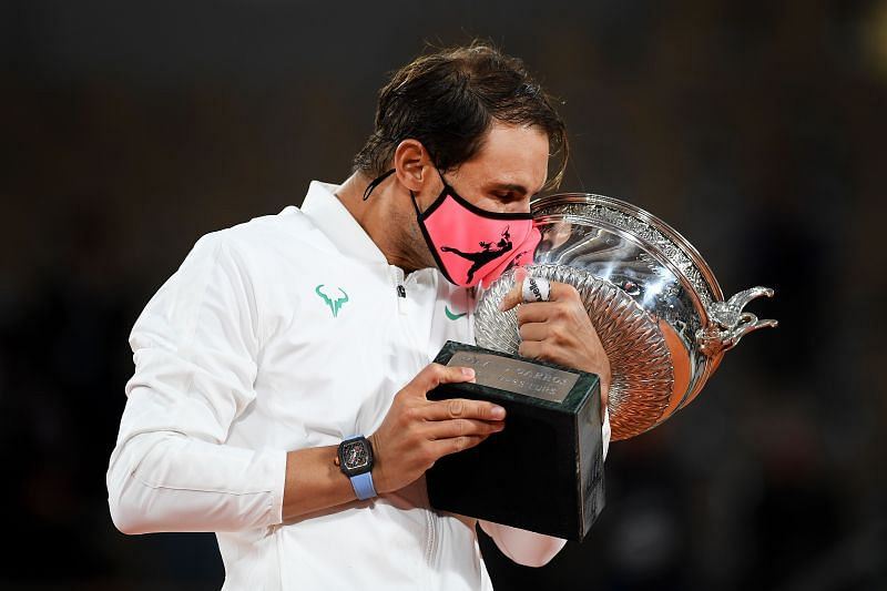 Rafael Nadal won his 20th Grand Slam title at the French Open on Sunday