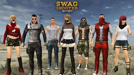 Swag Shooter – Online & Offline Battle Royale Game (Image Credits: Google Play)