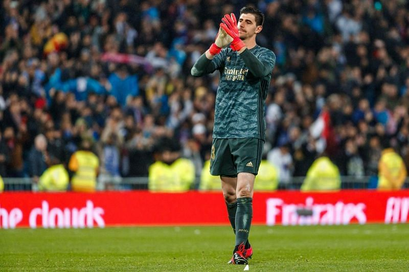 Courtois has continued from where he left last season, registering three more clean