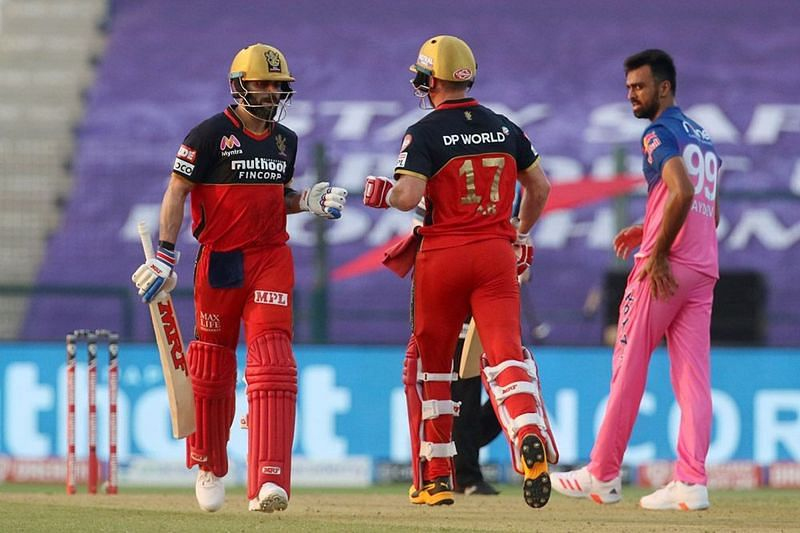 The Rajasthan Royals lost to the Royal Challengers Bangalore by 8 wickets in Match 15 of IPL 2020. (Image credits: IPLT20.com)