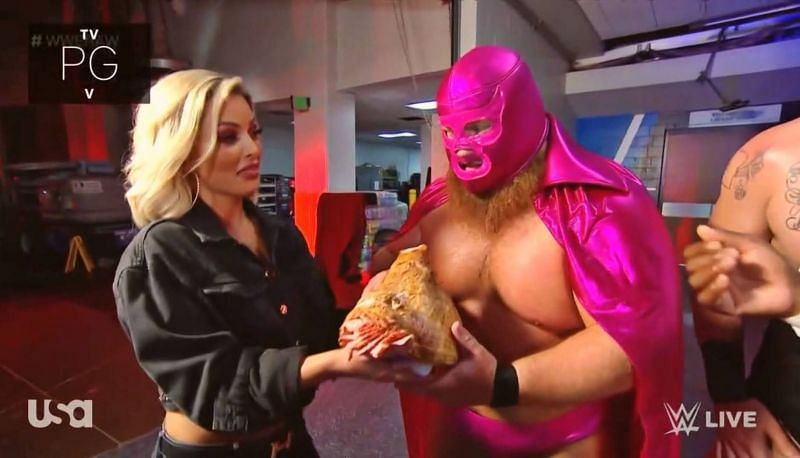 Otis appeared on WWE RAW as his Lucha alter-ego