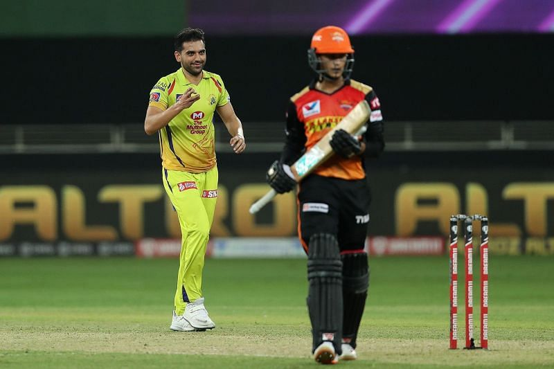 Deepak Chahar was the pick of the CSK bowlers [PC: iplt20.com]
