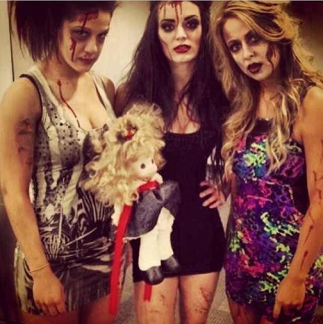 Bayley, Paige, and Emma