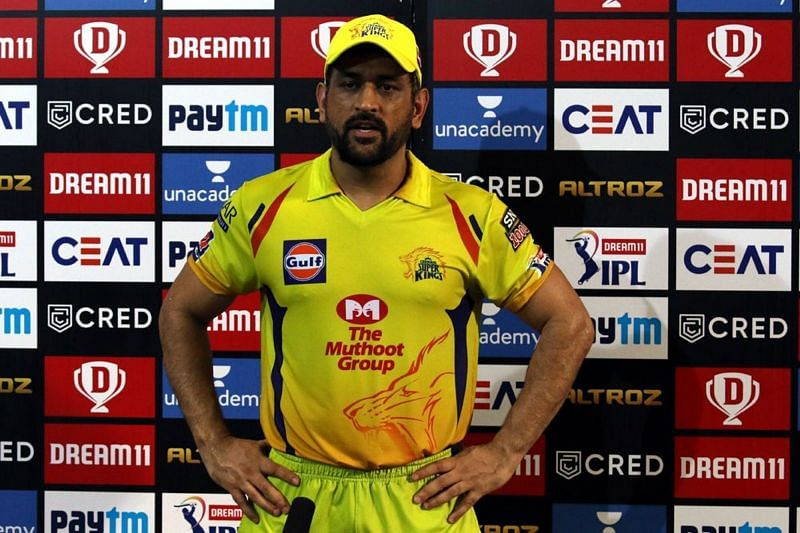 MS Dhoni was implored for explanations as CSK lost a game they looked set to win in the first half.