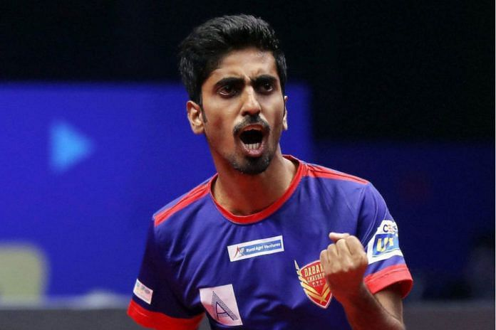 G Sathiyan is the only Indian player participating in the Polish Superliga