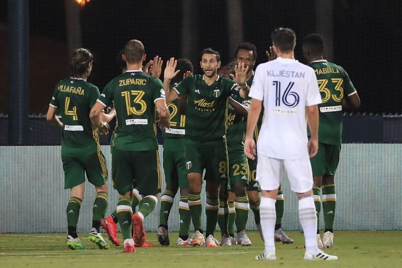 Los Angeles Galaxy take on the Portland Timbers this week