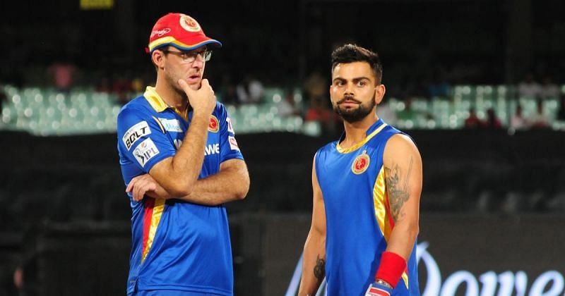 Daniel Vettori handed over the reins to a young Virat Kohli in 2012.