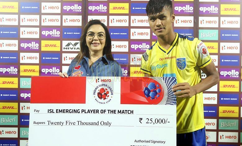 The ISL emerging player award has become more prestigious than ever