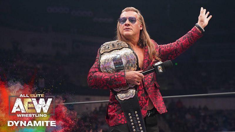 Chris Jericho as the AEW Champion