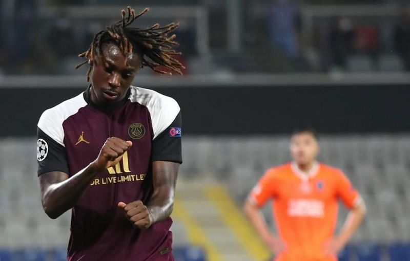 Mosie Kean netted another brace to guide PSG to an important win in UCL
