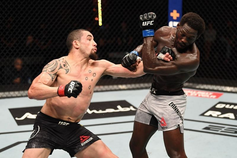 Jared Cannonier fights Robert Whittaker at UFC 254
