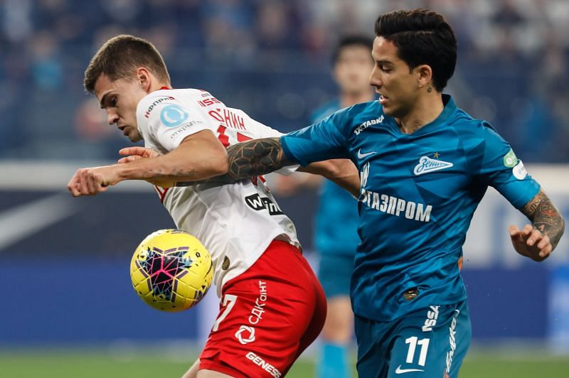 Zenit Saint Petersburg take on Spartak Moscow this weekend