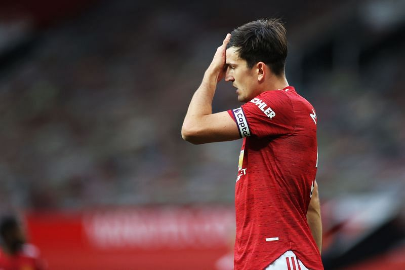 Harry Maguire has struggled to impress for Manchester United this season.