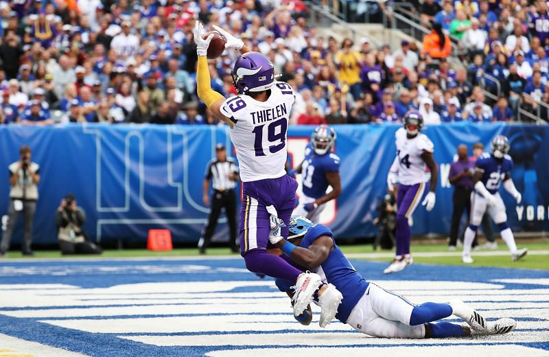 Cleveland Browns are looking to land a trade for wide receiver Adam Thielen.