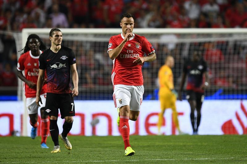 Haris Seferovic has scored three goals in two games for Benfica