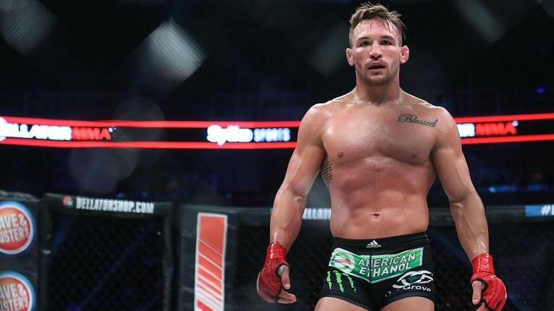 Michael Chandler has his sights set on the UFC Lightweight Championship
