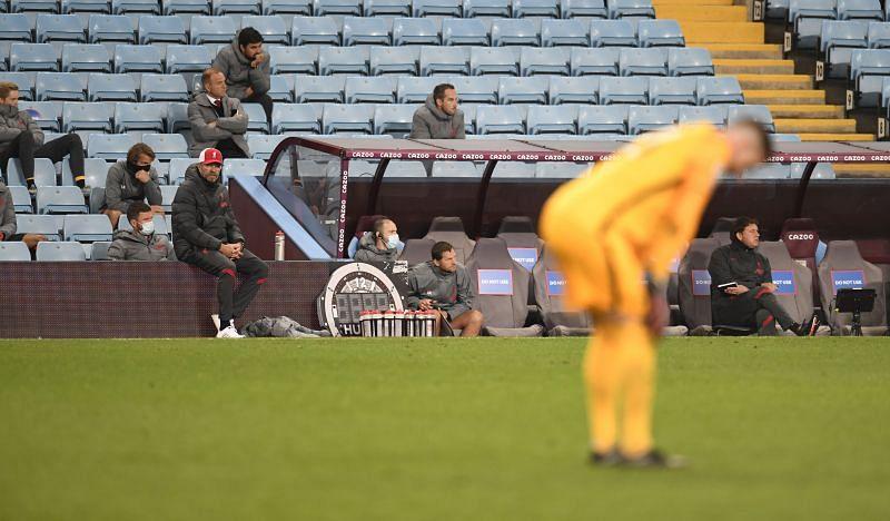 Adrian struggled against Aston Villa