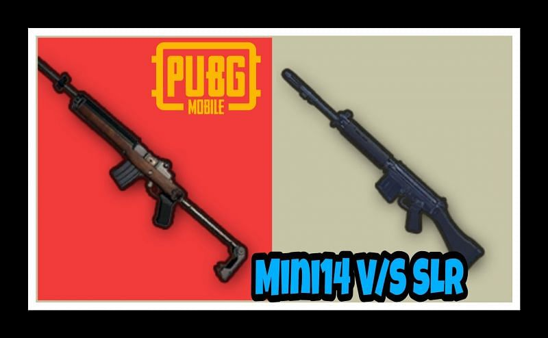 PUBG Mobile: Mini14 V/S SLR- Which DMR is better & why?