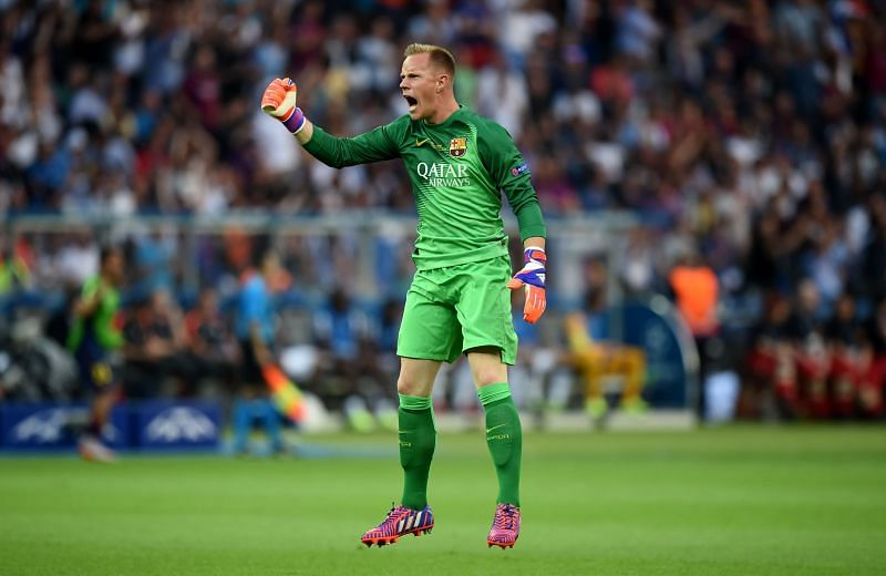 Ter Stegen has signed a new contract with Barcelona
