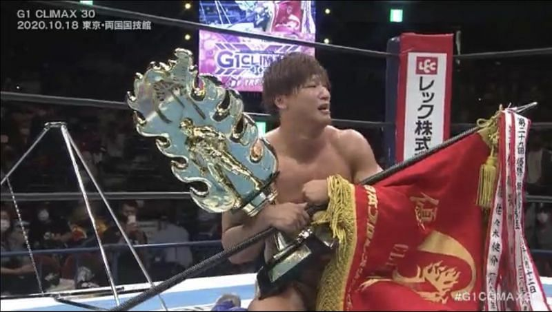 Kota Ibushi looked to win back to back Finals against SANADA in the G1 Climax 30 Finals.
