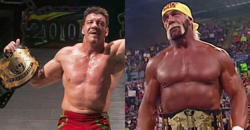 Eddie Guerrero and Hulk Hogan