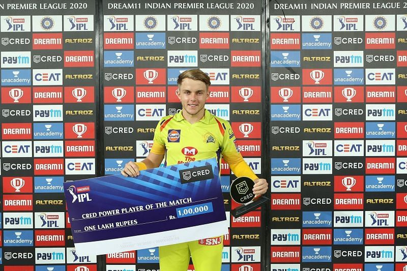 Sam Curran took the attack to the Sunrisers Hyderabad bowlers in the Powerplay [P/C: iplt20.com]