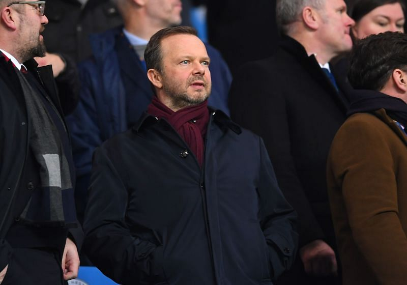 Ed Woodward is not pleased with Manchester United