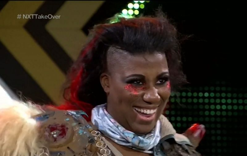 Ember Moon made a remarkable and shocking return to WWE at this week