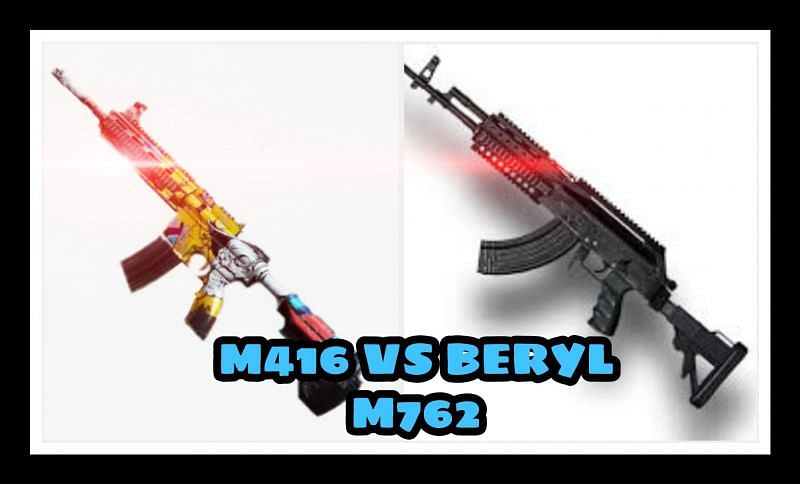 PUBG Mobile: M416 VS Beryl M762; Which assault rifle is better & Why?