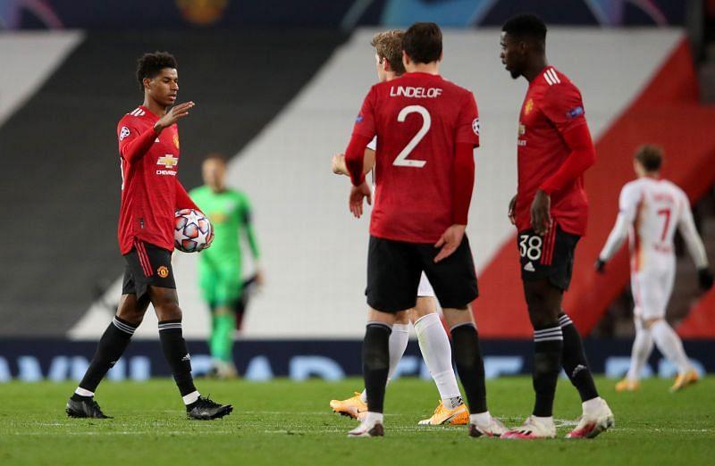 Rashford bagged an 18-minute hat-trick in United