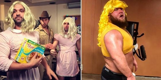 These WWE Superstars donned the most hilarious outfits