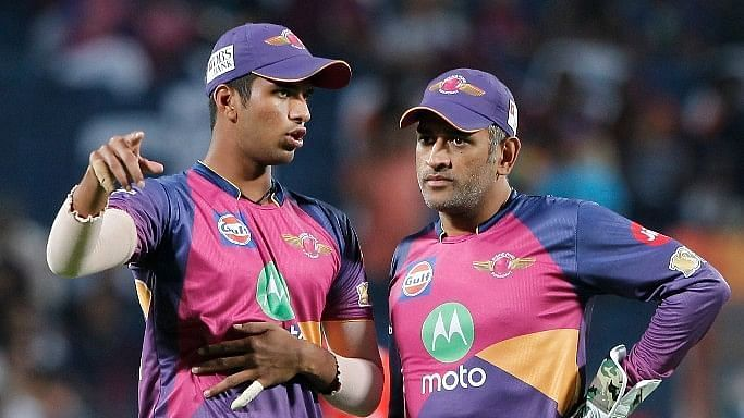 Washington Sundar played under MS Dhoni for RPS in IPL 2017 (Credits: IPLT20.com)