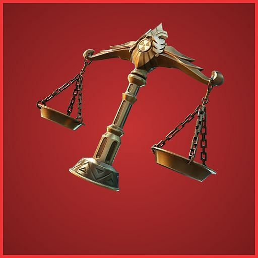 Scales of Justice is a backbling centred around She-Hulk in Fortnite Season 4 (Image credit: Pro Game Guide)