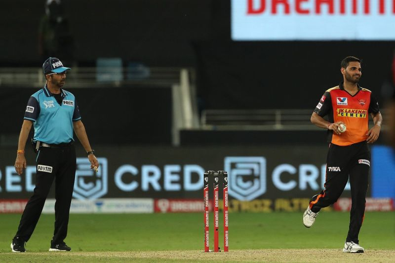 Bhuvneshwar Kumar has been ruled out of IPL 2020 (Image credits: IPLT20.com)