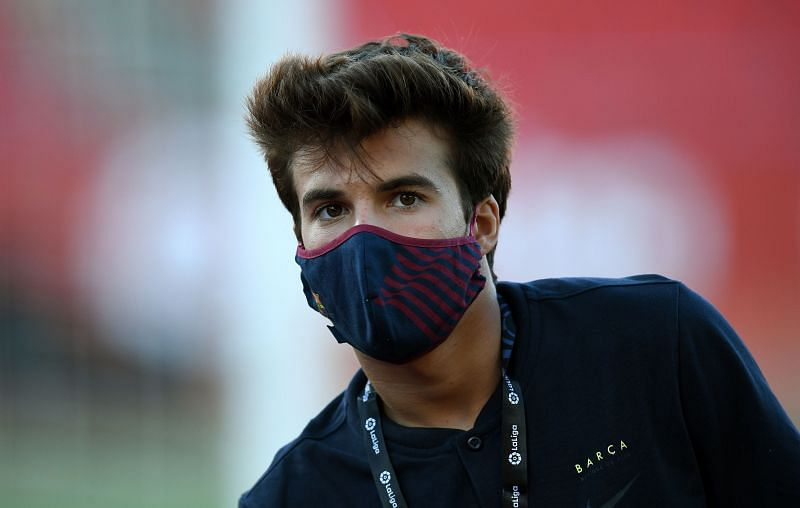 Riqui Puig has elected to stay and fight for his place at Barcelona