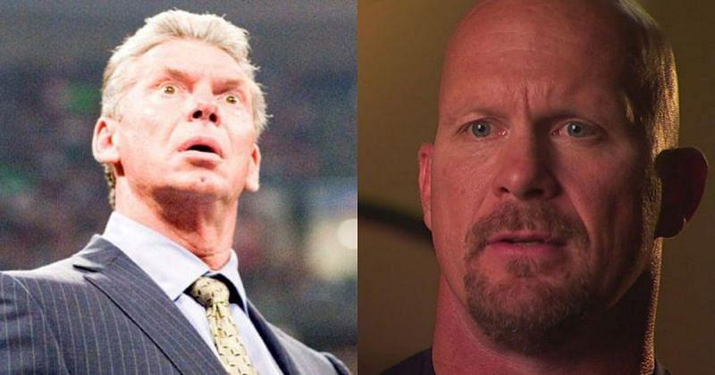 Vince McMahon and Stone Cold Steve Austin.