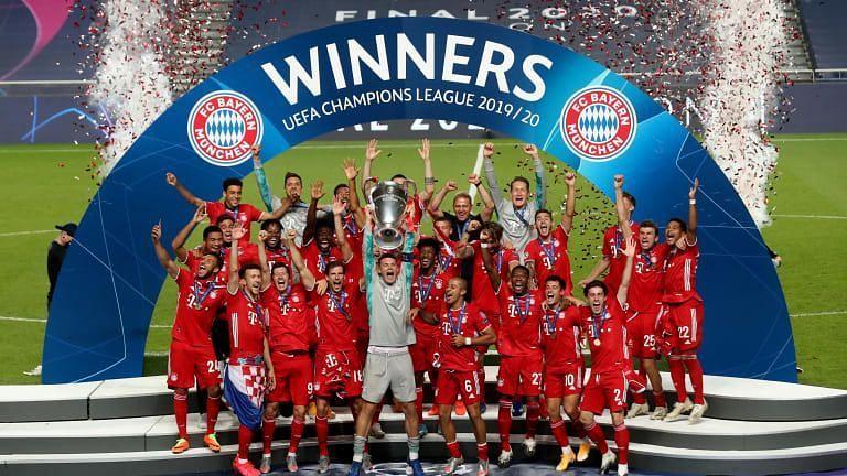 Bayern Munich won the 2019-20 Champions League.