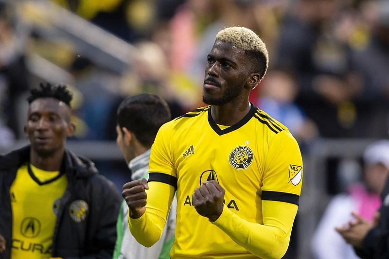 Gyasi Zardes is the top scorer in the Eastern Conference with 12 goals