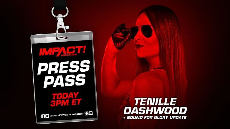 Tenille Dashwood on this week