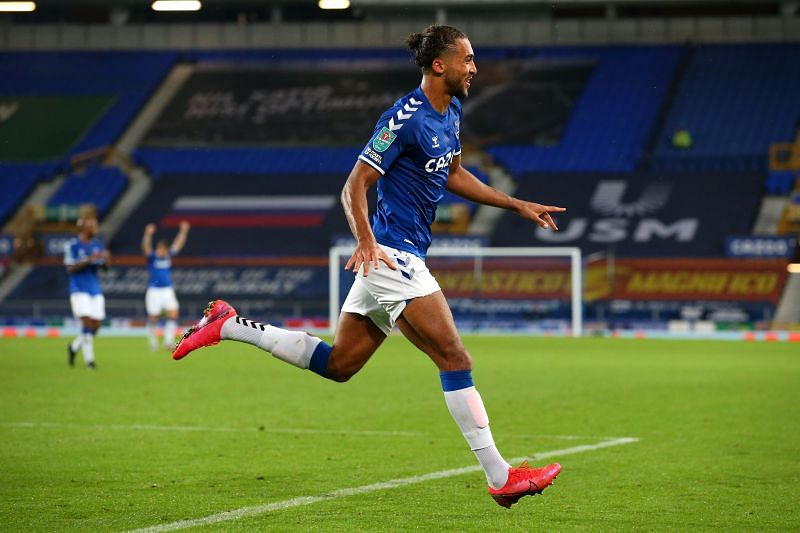 Dominic Calvert-Lewin is in the middle of a purple patch for Everton