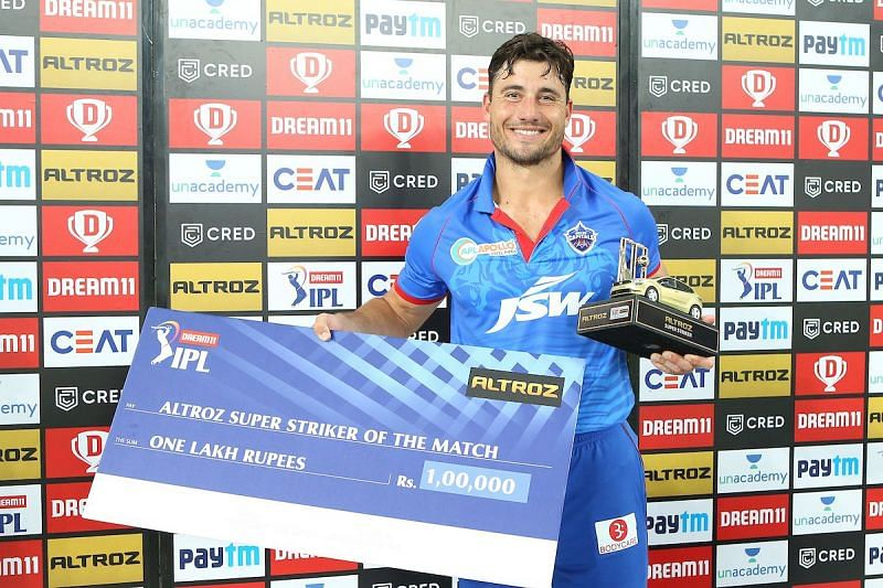 Stoinis has been a shrewd buy for DC in IPL 2020