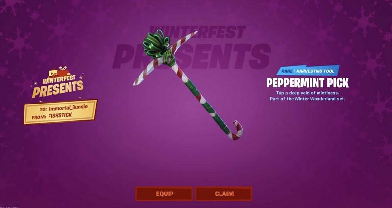 Fortnite Winterfest presents from 2019 (Image Credits: Epic Games / Fortnite Insider)