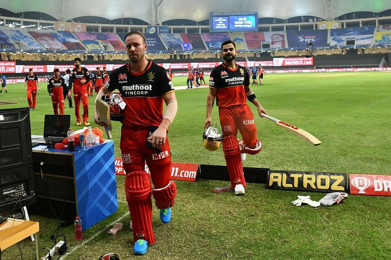 The Royal Challengers Bangalore beat the Mumbai Indians in a Super Over earlier in IPL 2020. (Image Credits: IPLT20.com)
