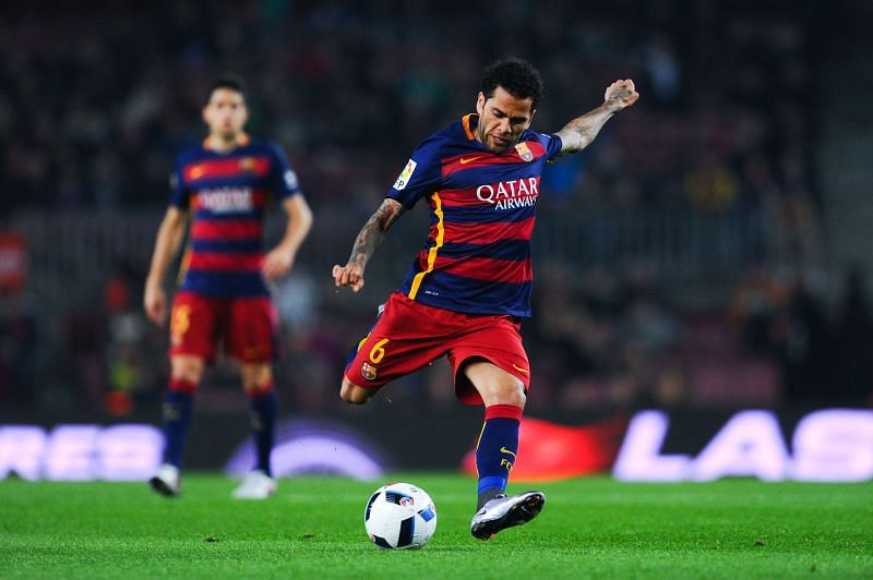 Alves is one of the greatest defenders in the history of Barcelona