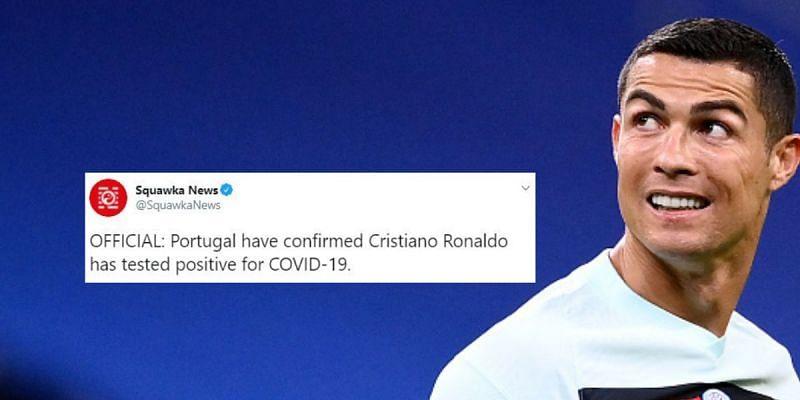 Juventus and Portugal forward Cristiano Ronaldo has tested positive for coronavirus